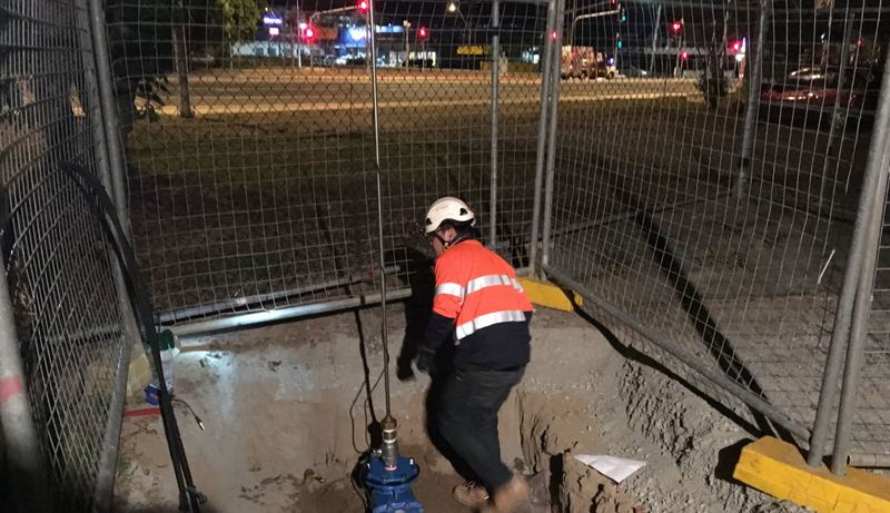 Working during the night