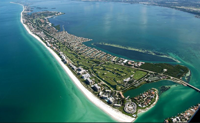 Longboat Key Aerial View