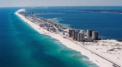 Pensacola view from the air