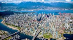 City of Vancouver from the air